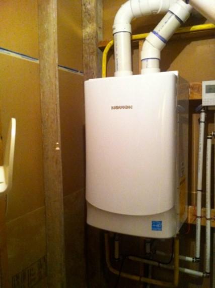 Navien Tankless Water Heater Venting : Navien tankless water heater